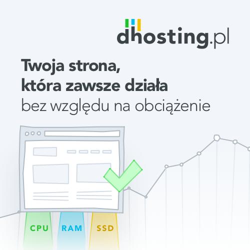 Partner technologiczny dhosting.pl